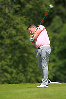 Ross Harrower (Boat of Garten Golf &amp; Tennis Club) on the 17th tee during Round 1 of the Titleist &amp; Footjoy PGA Professional Championship at Luttrellstown Castle Golf &amp; Country Club on Tuesday 13th June 2017.<br /> Photo: Golffile / Thos Caffrey.<br /> <br /> All photo usage must carry mandatory copyright credit     (&copy; Golffile | Thos Caffrey)
