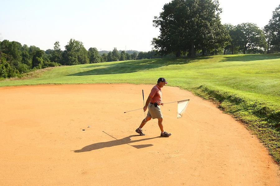 The McIntire Golf Course located in Charlottesville, VA.
