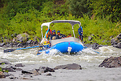 Private Rafters, Kayakers, Canoers, Paddle Boarders & Tubers crashing Cable Rapid while running the Upper Colorado River from Rancho Del Rio to State Bridge on August 23, 2014.