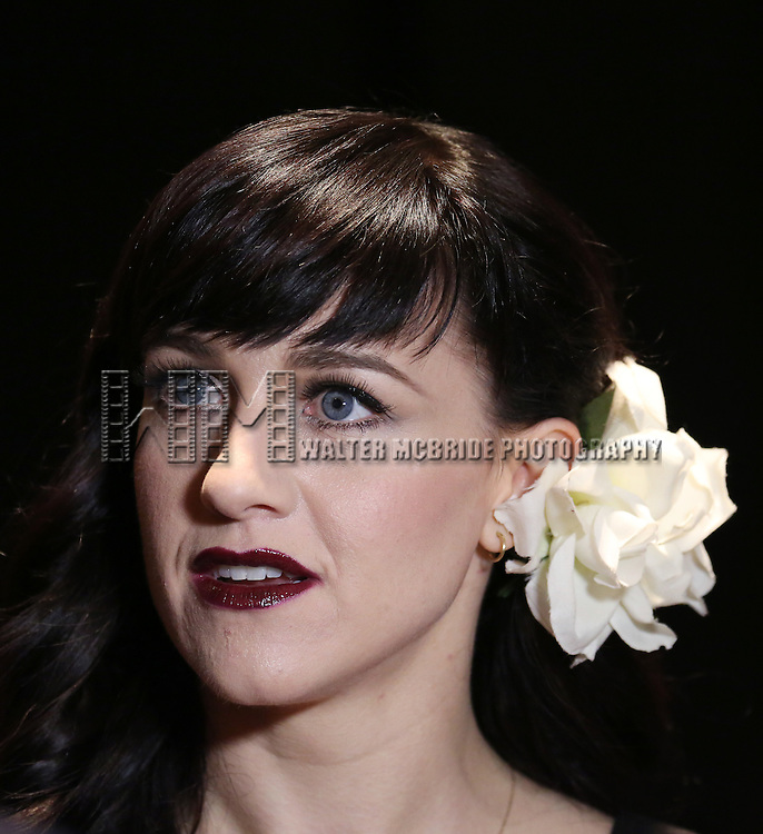 Lena Hall backstage at 'Uprising Of Love: A Benefit Concert For Global Equality' at the Gershwin Theatre on September 15, 2014 in New York City.