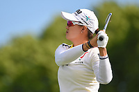 Minjee Lee (AUS) watches her tee shot on 8 during the round 3 of the KPMG Women's PGA Championship, Hazeltine National, Chaska, Minnesota, USA. 6/22/2019.<br /> Picture: Golffile | Ken Murray<br /> <br /> <br /> All photo usage must carry mandatory copyright credit (© Golffile | Ken Murray)