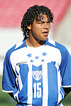 13 March 2008: Mario Martinez (HON) (15). The Honduras U-23 Men's National Team defeated the Cuba U-23 Men's National Team 2-0 at Raymond James Stadium in Tampa, FL in a Group A game during the 2008 CONCACAF's Men's Olympic Qualifying Tournament.