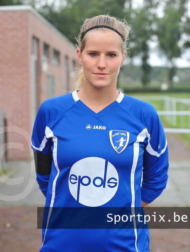 AA Gent Ladies : Sien Leemans .foto DAVID CATRY / Vrouwenteam.be
