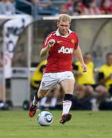 Paul Scholes. Manchester United defeated Philadelphia Union, 1-0.