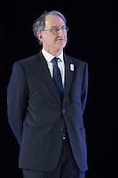 DENIS MASSEGLIA PRESIDENT DU COMITE NATIONAL OLYMPIQUE ET SPORTIF FRANCAIS - OPERATION J-100 DES JEUX OLYMPIQUES DE RIO AU PALAIS DE CHAILLOT