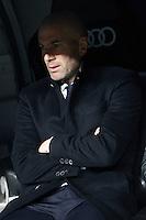 Real Madrid's coach Zinedine Zidane during La Liga match. March 1,2017. (ALTERPHOTOS/Acero) /NORTEPHOTOmex