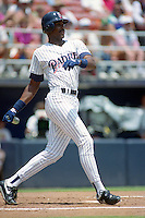 San Diego Padres Fred McGriff (29) during a game against the Philadelphia Phillies circa 1992 at San Diego Jack Murphy Stadium  in San Diego, California.  (MJA/Four Seam Images)