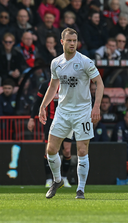 Burnley's Ashley Barnes<br /> <br /> Photographer David Horton/CameraSport<br /> <br /> The Premier League - Bournemouth v Burnley - Saturday 6th April 2019 - Vitality Stadium - Bournemouth<br /> <br /> World Copyright © 2019 CameraSport. All rights reserved. 43 Linden Ave. Countesthorpe. Leicester. England. LE8 5PG - Tel: +44 (0) 116 277 4147 - admin@camerasport.com - www.camerasport.com