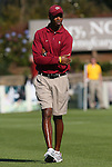 08 November 2009: FSU assistant coach Eric Bell. The University of North Carolina Tar Heels defeated the Florida State University Seminoles 3-0 at WakeMed Stadium in Cary, North Carolina in the Atlantic Coast Conference Women's Soccer Tournament Championship game.
