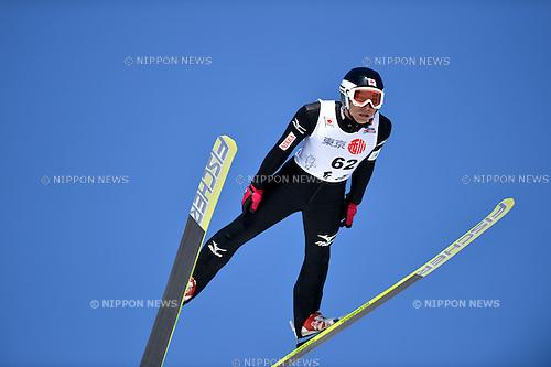 Kazuyoshi Funaki (JPN), .MARCH 9, 2013 - Ski Jumping : The 91th All Japan Ski Jumping Championship, Individual Normalhill at Jumping Hills Hakuba,Nagano,Japan. (Photo by Jun Tsukida/AFLO SPORT).