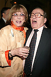 Sidney Lumet and Phyllis Newman.Attending a New York celebration in anticipation of director Sidney Lumet's Honorary Academy Award, which will be presented at the upcoming 77th Annual Academy Awards at Arabelle at the Plaza Athenee in New York City..