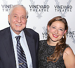 Garry Marshall and Sophie von Haselberg attends the Off-Broadway opening Night Performance After Party for 'Billy & Ray' at the Vineyard Theatre on October 20, 2014 in New York City.