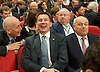 Conservative Party Conference, ICC, Birmingham, Great Britain <br /> 1st October 2014<br /> <br /> Rt Hon David Cameron MP The Prime Minister<br /> Leader of the Conservatives <br /> <br /> Jeremy Hunt and iain Duncan Smith watching speech <br /> <br /> Photograph by Elliott Franks <br /> Image licensed to Elliott Franks Photography Services