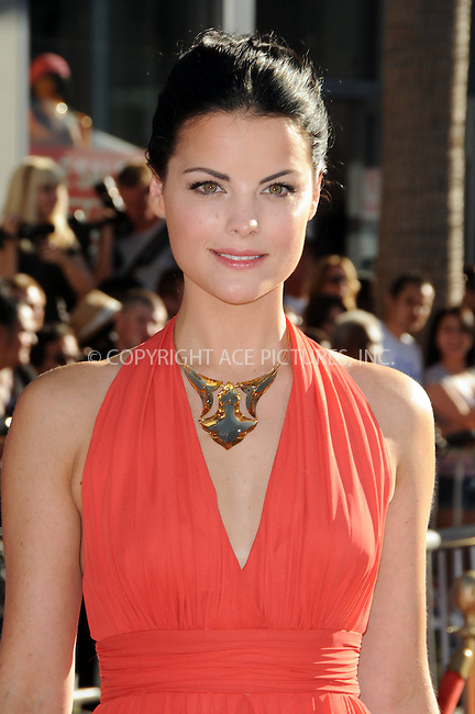 WWW.ACEPIXS.COM . . . . .  ....July 19 2011, LA....Actress Jaimie Alexander arriving at the 'Captain America: The First Avenger' Los Angeles Premiere at the El Capitan Theater on July 19, 2011 in Hollywood, California.....Please byline: PETER WEST - ACE PICTURES.... *** ***..Ace Pictures, Inc:  ..Philip Vaughan (212) 243-8787 or (646) 679 0430..e-mail: info@acepixs.com..web: http://www.acepixs.com