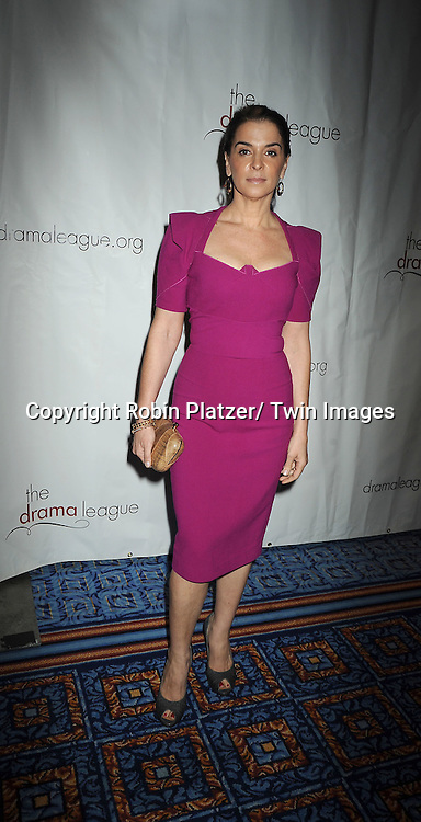 Annabella Sciorra attending the Drama League Awards Ceremony and Luncheon at The Marriott Marquis Hotel in New York on May 20, 2011.