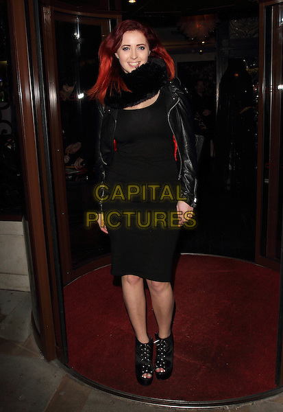 LONDON, UNITED KINGDOM - FEBRUARY 25: Lucy Collett attends the launch of 'Total Mink'. a new brand of ethically produced mink eyelashes at The Sanctum Soho Hotel on February 25, 2014 in London, England<br /> CAP/ROS<br /> &copy;Steve Ross/Capital Pictures