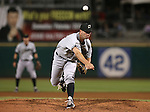 Omaha's Andy Ferguson pitches against the Reno Aces on Wednesday, Aug. 27, 2014, in Reno, Nev.<br /> Photo by Cathleen Allison