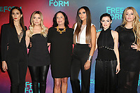 www.acepixs.com<br /> <br /> April 19, 2017 New York City<br /> <br /> (L-R) Troian Bellisario, Ashley Benson, I. Marlene King, Shay Mitchell, Lucy Hale, and Sasha Pieterse arriving at the Freeform 2017 Upfront at Hudson Mercantile on April 19, 2017 in New York City. <br /> <br /> By Line: Nancy Rivera/ACE Pictures<br /> <br /> <br /> ACE Pictures Inc<br /> Tel: 6467670430<br /> Email: info@acepixs.com<br /> www.acepixs.com