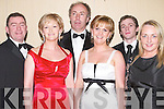 NIGHT OUT: A night out for John Collins, Adrienne Collins, Billy Moyles, Elma Collins, Jonathan Collins and Patsy Moyles at the Tralee Chamber of Commerce Ball at the Brandon Hotel on Saturday night..