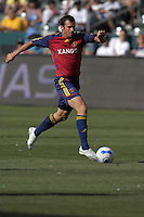 Chris Klein runs with the ball. The Los Angeles Galaxy defeated Real Salt Lake, 3-2, at the Home Depot Center in Carson, CA on Sunday, June 17, 2007.