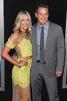 "WESTWOOD, LOS ANGELES, CA, USA - APRIL 10: Cynthia Daniel, Cole Hauser at the Los Angeles Premiere Of Warner Bros. Pictures And Alcon Entertainment's ""Transcendence"" held at Regency Village Theatre on April 10, 2014 in Westwood, Los Angeles, California, United States. (Photo by Xavier Collin/Celebrity Monitor)"