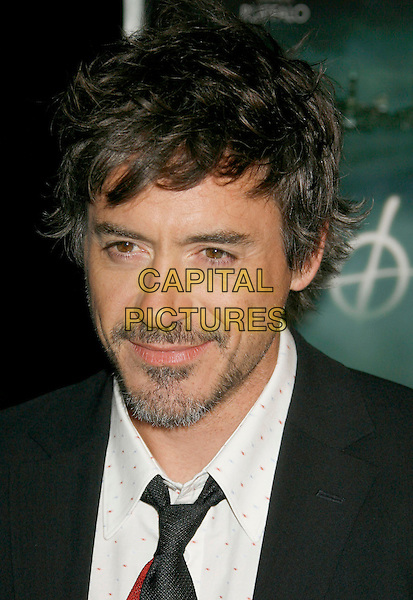 "ROBERT DOWNEY JR..""Zodiac"" Los Angeles Premiere held at Paramount Theatre, . Los Angeles, California, USA, 01 March 2007..portrait headshot.CAP/ADM/RE.©Russ Elliot/AdMedia/Capital Pictures. *** Local Caption *** ."
