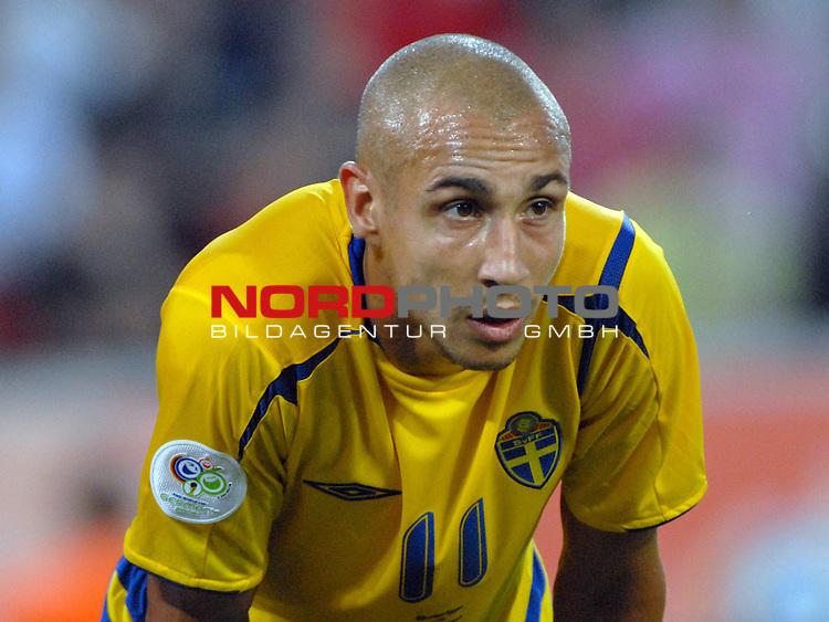 FIFA WM 2006 -  Gruppe B Vorrunde ( Group B )<br /> Play    #35 (20-Jun) - Schweden vs England <br /> <br /> Henrik Larsson (SWE)<br /> <br /> Foto &copy; nordphoto