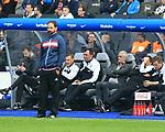 14.04.2018, OLympiastadion, Berlin, GER, 1.FBL, Hertha BSC VS. 1.FC Koeln, im Bild <br /> Cheftrainer STEFAN RUTHENBECK (1.FC Koeln), #Armin Veh<br /> <br /> <br />       <br /> Foto &copy; nordphoto / Engler