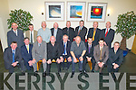 85: The Kilmoyley team of 85 who were honoured on Saturday night at the Kilmoyley GAA Social in Ballyroe Heights Hotel, Tralee. Front l-r: Dick Fitzgerald, Michael Ryan, Declan Lovett, Maurice Fitzgerald, Maurice Egan (capt), Mike Fitzgerald, John Sullivan,John O'Neill and Pater Young. Back l-r: Gerard O'Sullivan, Nicky Cooke, TJ Harris, John Fealy, John Curran, Bert McElligott, Ned Horgan and John Martin Brick.......... . ............................... ..........