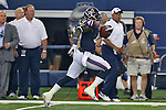 Houston Texans running back Cierre Wood (41) in action during the pre-season game between the Houston Texans and the Dallas Cowboys at the AT & T stadium in Arlington, Texas. Houston leads Dallas 14 to 3 at halftime.