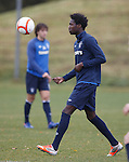 New guy training with Rangers