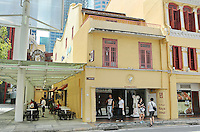 The popular breakfast cafe chain un Kaya Toast in Singapore.