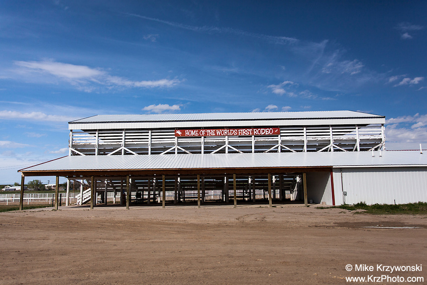 Rodeo stadium in Deer Trail, CO