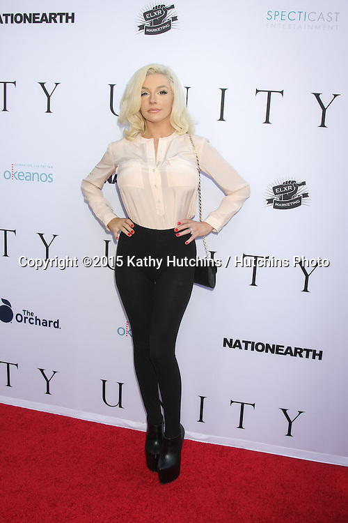 """LOS ANGELES - JUN 24:  Courtney Stodden at the """"Unity"""" Documentary World Premeire at the Director's Guild of America on June 24, 2015 in Los Angeles, CA"""