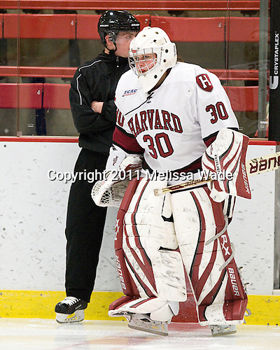 Tiana Press (Harvard - 30) - The visiting Dartmouth College Big Green defeated the Harvard University Crimson 3-2 on Wednesday, November 23, 2011, at Bright Hockey Center in Cambridge, Massachusetts.