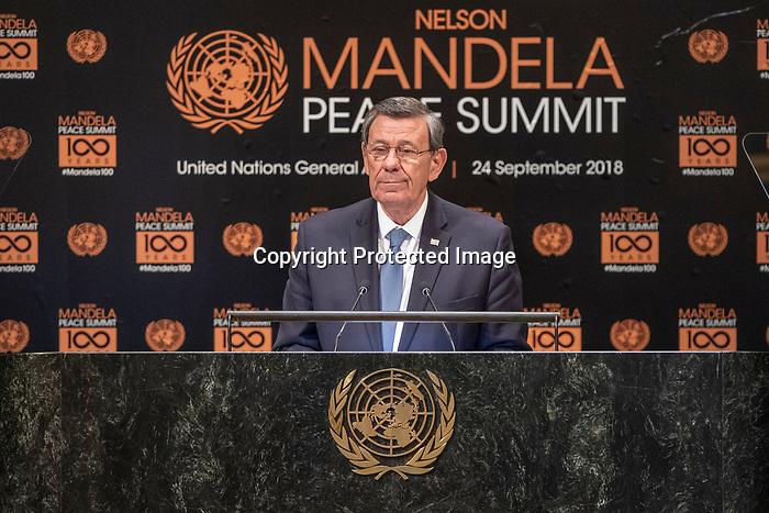 Opening Plenary Meeting of the Nelson Mandela Peace Summit<br /> <br /> Uruguat FM