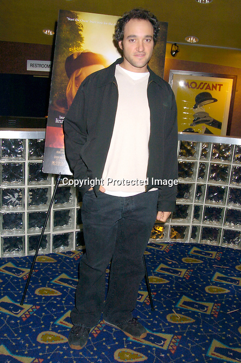 """Greg Bello ..at the New York Premiere of """"ps"""" on October 12, 2004 ..at the Clearview Chelsea West. ..Photo by Robin Platzer, Twin Images"""