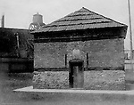 Pittsburgh PA: Originally built in 1764, the Blockhouse was eventually renovated with support from the Daughters of the American Revolution. The Blockhouse is part of Point State Park and open to the public - 1904