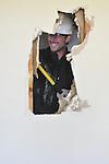 Extreme MakeOver Home Edition. Hattiesburg Mississippi December 5, 2009.Photo©Suzi Altman/Suzisnaps.com