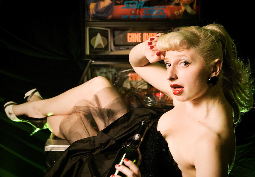"Burlesque Dancer ""Lefty Lucy"""