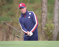 23 Sept 14 Webb Simpson during the Tuesday Practice Round at The Ryder Cup at The Gleneagles Hotel in Perthshire, Scotland. (photo credit : kenneth e. dennis/kendennisphoto.com)