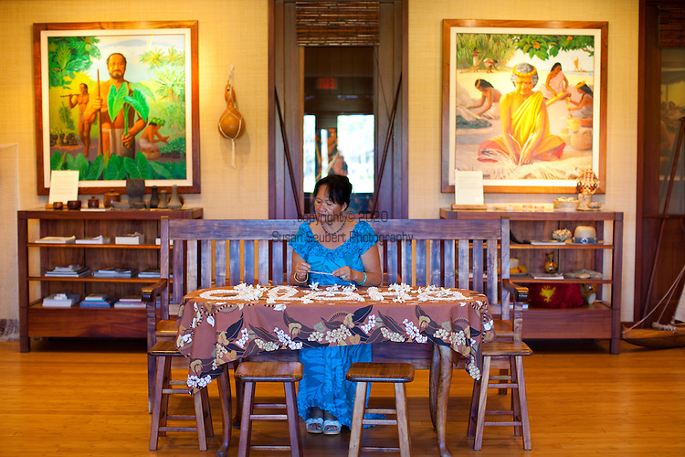 The Four Seasons Resort Hualalai at Historic Kaupulehu on the Big Island of Hawaii features a cultural center with many opportunities to learn about traditional Hawaiian culture and participate in other activities.