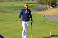 Dustin Johnson Team USA on the 15th tee during Friday's Foursomes Matches at the 2018 Ryder Cup 2018, Le Golf National, Ile-de-France, France. 28/09/2018.<br /> Picture Eoin Clarke / Golffile.ie<br /> <br /> All photo usage must carry mandatory copyright credit (&copy; Golffile | Eoin Clarke)