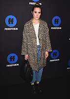 HOLLYWOOD, CA - JANUARY 18:  Eden Brolin at the Freeform Summit at NeueHouse on January 18, 2018 in Hollywood, California. (Photo by Scott Kirkland/PictureGroup)