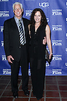 "SANTA BARBARA, CA - JANUARY 30: Mike Schoff, Nancy Mamann at the Santa Barbara International Film Festival's 29th Annual Opening Night Premiere - ""Mission Blue"" held at Arlington Theatre on January 30, 2014 in Santa Barbara, California. (Photo by David Acosta/Celebrity Monitor)"