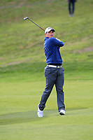 Callum Shinkwin (ENG) on the 1st fairway during Round 3 of the Open de Espana 2018 at Centro Nacional de Golf on Saturday 14th April 2018.<br /> Picture:  Thos Caffrey / www.golffile.ie<br /> <br /> All photo usage must carry mandatory copyright credit (&copy; Golffile | Thos Caffrey)