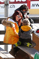 Pato & Barbara Berlusconi & her two kids on vacation in St. Moritz - Switzerland
