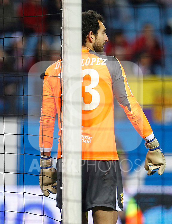 Villareal's Diego Lopez during La Liga match.March 5,2011. (ALTERPHOTOS/Acero)