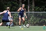 CARY, NC - JUNE 01: Jaelene Hinkle. The North Carolina Courage held a training session on June 1, 2017, at WakeMed Soccer Park Field 7 in Cary, NC.