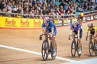 Picture by Allan McKenzie/SWpix.com - 06/01/2018 - Track Cycling - Revolution Champion Series 2017 - Round 3 - HSBC UK National Cycling Centre, Manchester, England - Elena Smith, Team Inspired, HSBC UK, Kalas, branding.